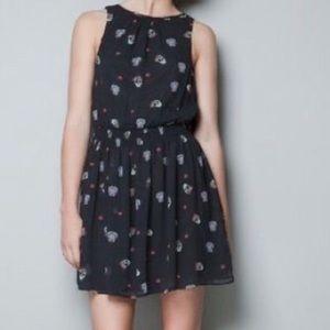 Zara Skull Mini Dress